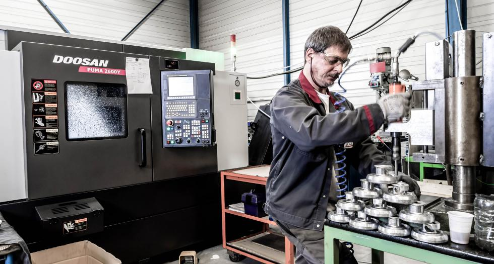 EXPERT IN MACHINING FOR MEDIUM AND LARGE SIZED PRODUCTION VOLUMES